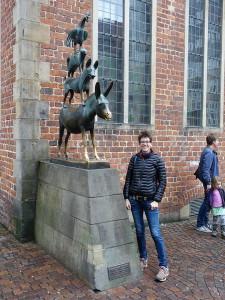 2015-11-07 Bremen - Bremer Stadtmusikanten 03