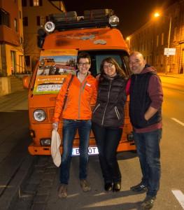 """Die """"Orangetrotter"""", Helga Negele und Jürgen Dommer"""