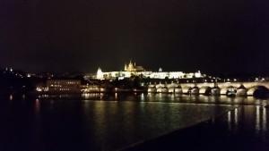 2015-10-22 Prag - Hradschin bei Nacht 01