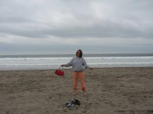 Am Strand von La Serena, 2006